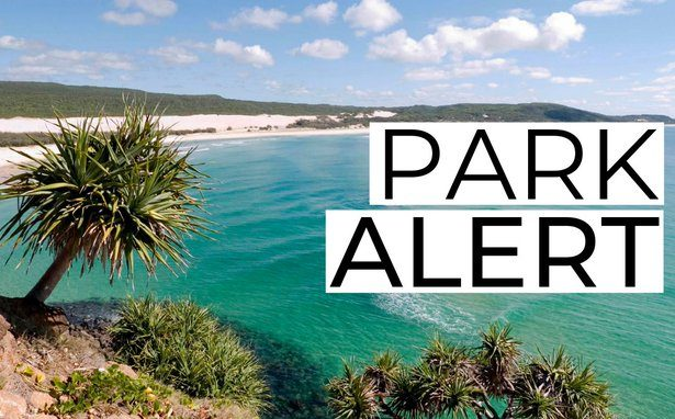 frasesr island bushfire sunshine coast news