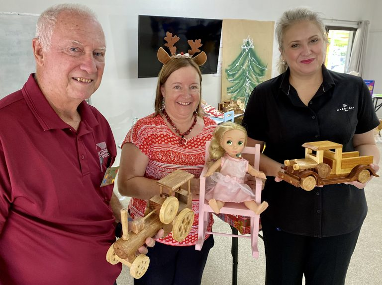 Maroochy RSL helps bring smile to those in need