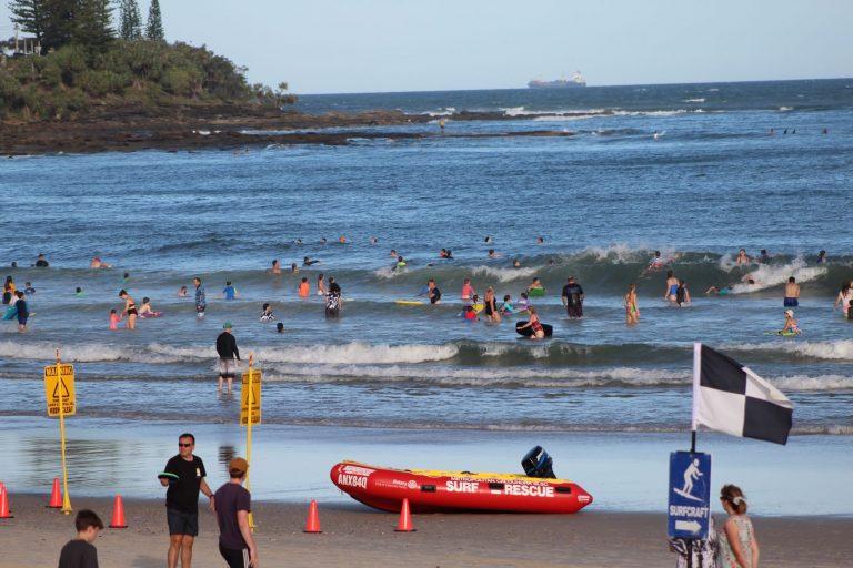 Beach break: the school holidays are set to heat up