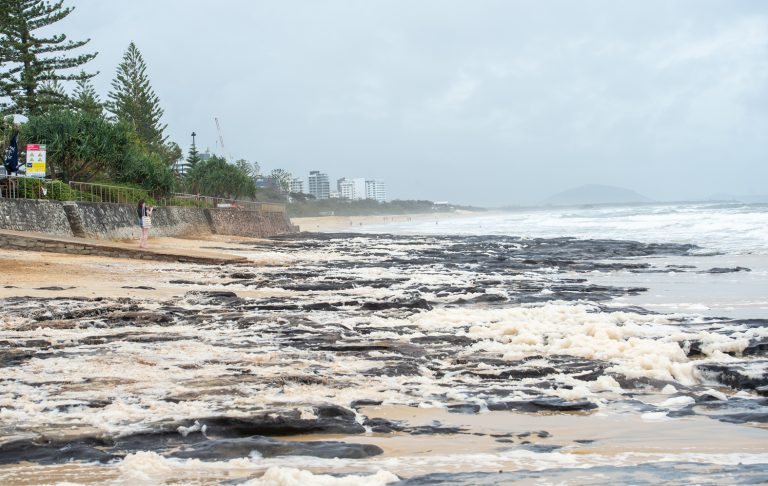 As the ocean subsides, it's a 'reasonable' beach weekend
