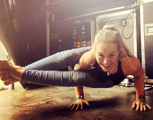 Coolum's Becky Pell found yoga through rock'n'roll