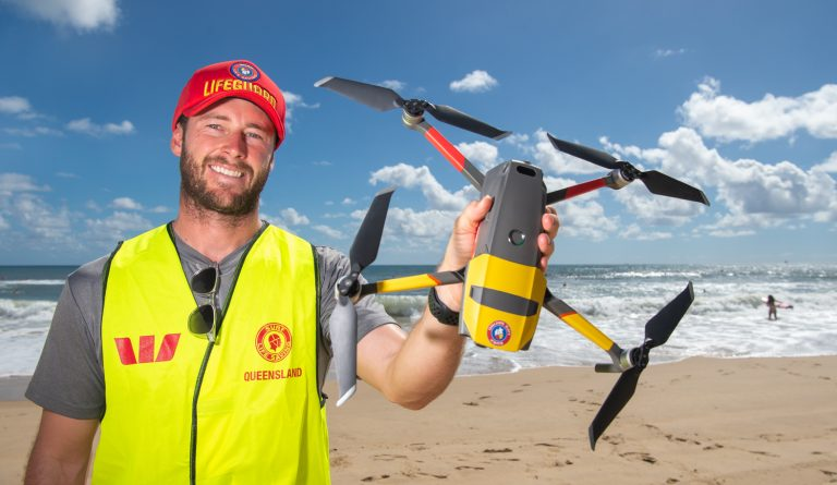 Coast shark-spotting drone's surprise discovery