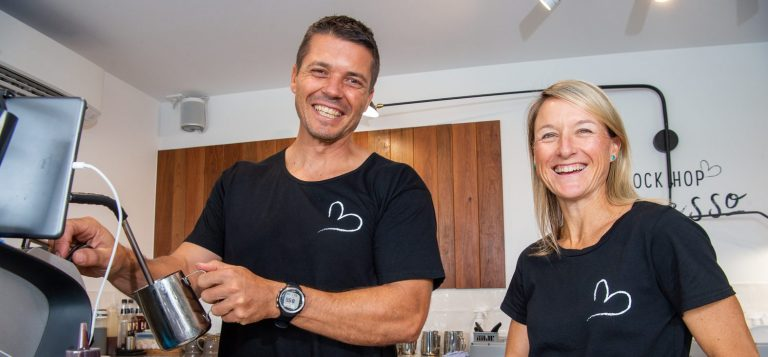 Rock up for a coffee at cool new Coolum cafe