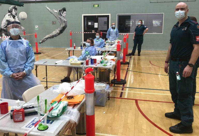 Noosa emergency testing clinic opens amid surge