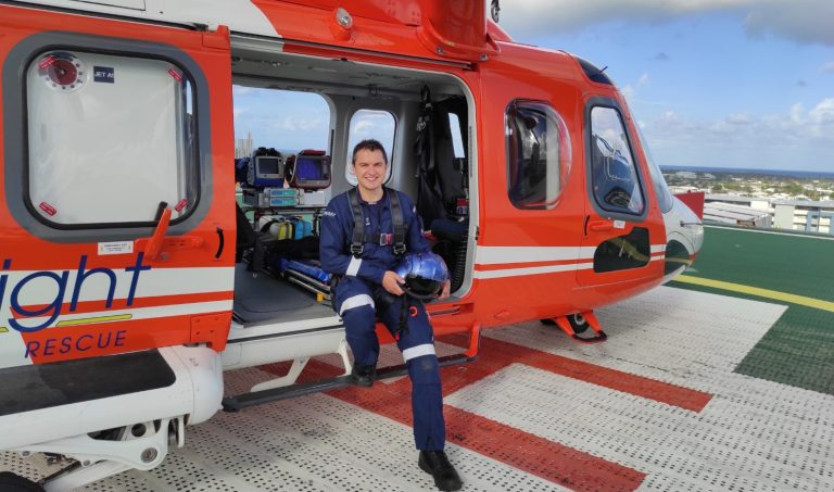 Care in the air: high-flying doctors join LifeFlight