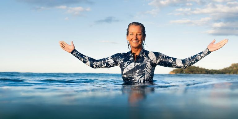 Surfer Layne Beachley shares her survival secrets