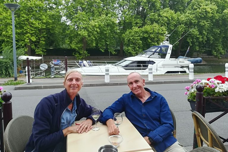 Just add water: Couple swaps open road for cruising
