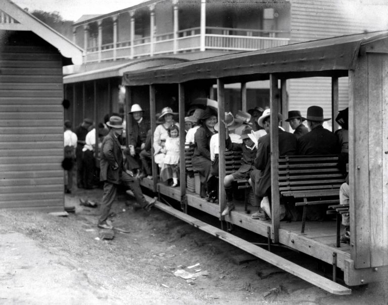 All aboard for a trip from Nambour to the seaside