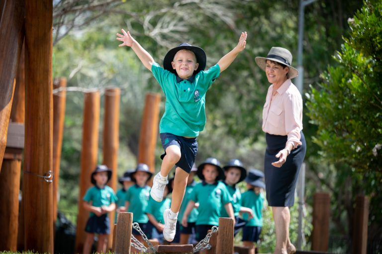 Matthew Flinders students explore new playground