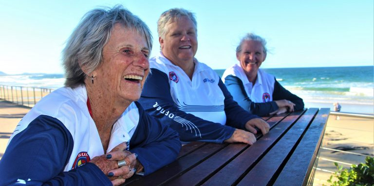 The surf 'family' that keeps The Aussies humming