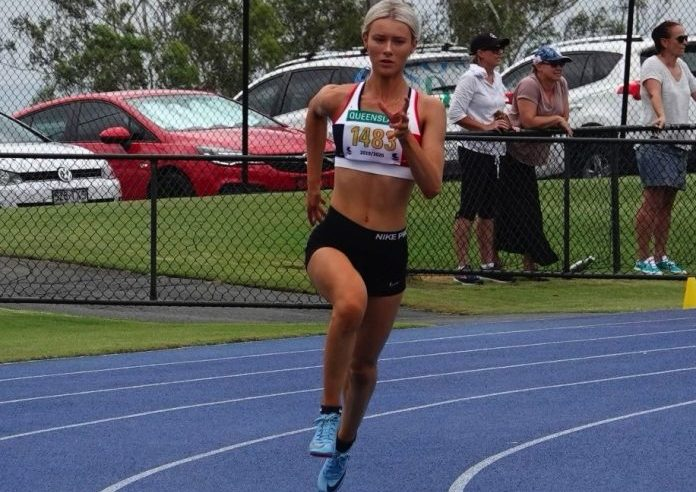 The rising athlete who 'found her fire' in under 10s