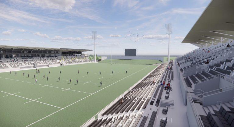 Vision for stadium revealed as funding push intensifies