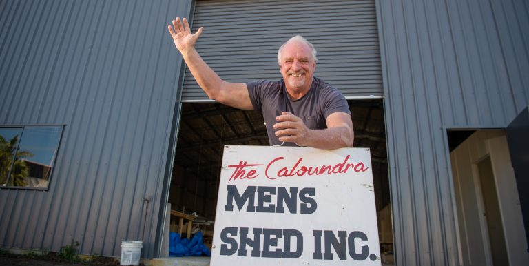 The giant Caloundra shed building mateship and pride