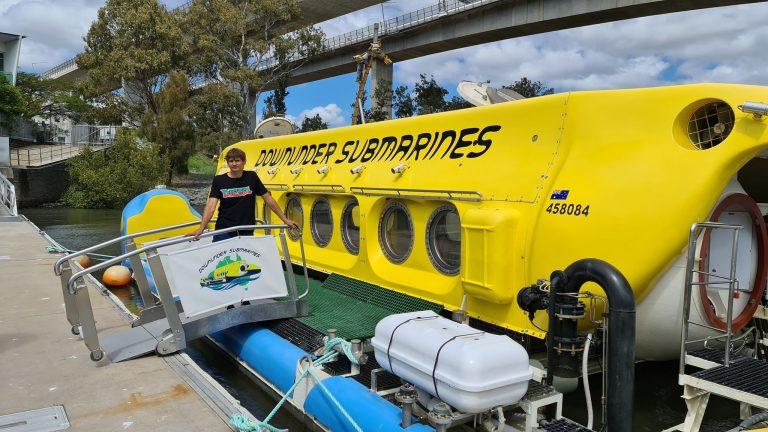 Australia's first tourism sub aims for Mooloolaba
