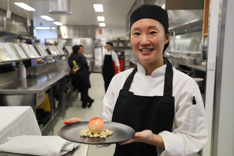 Ultimate taste test: students cook for region's top chefs