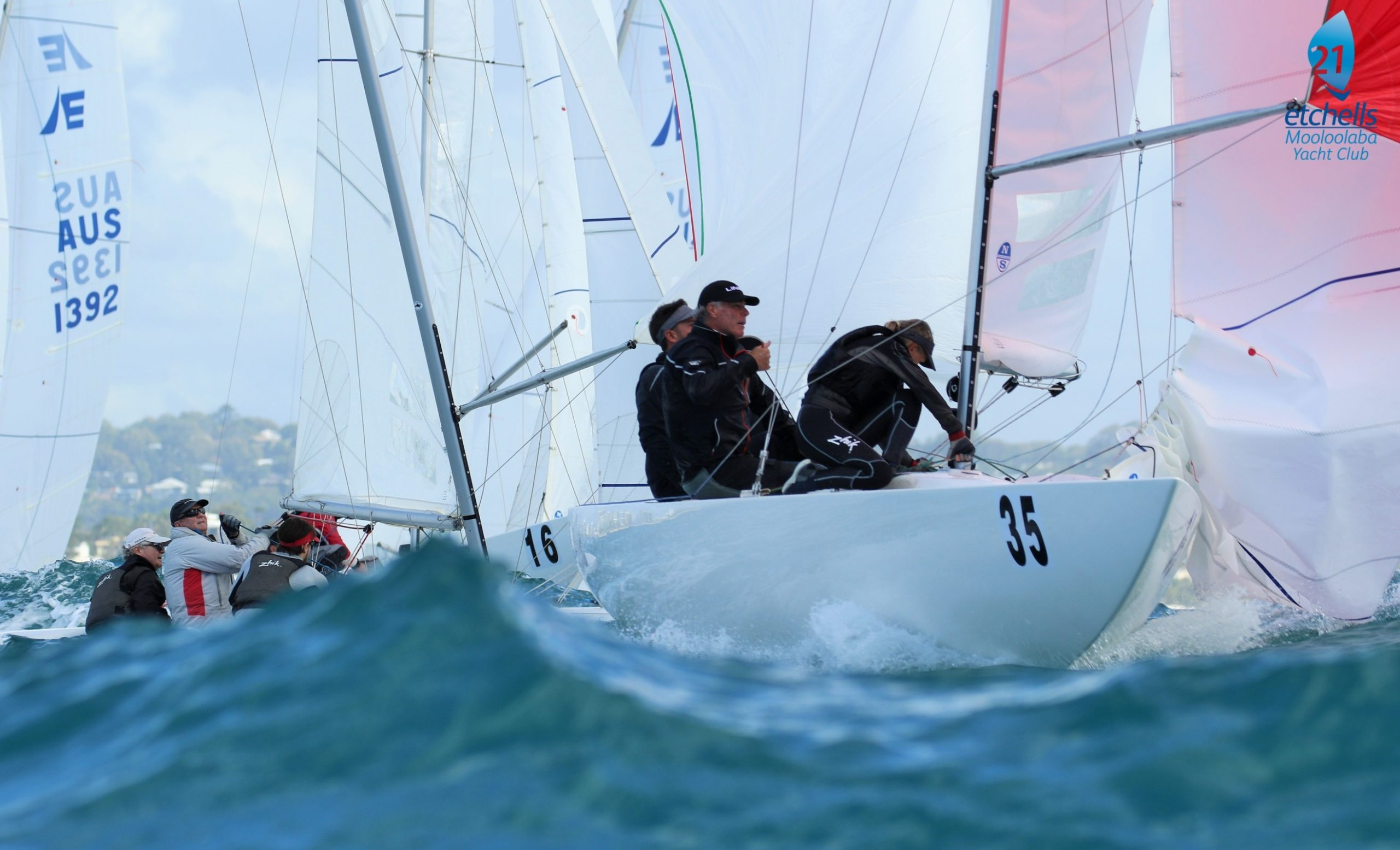 Why nations best sailors have returned to the Sunshine Coast