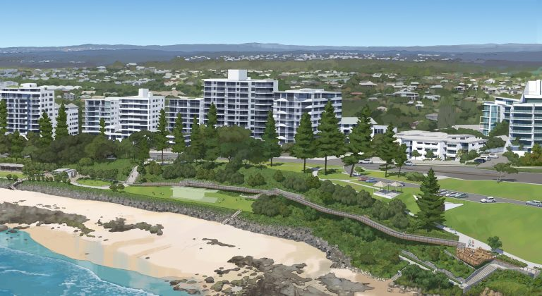 What's about to happen along Mooloolaba foreshore