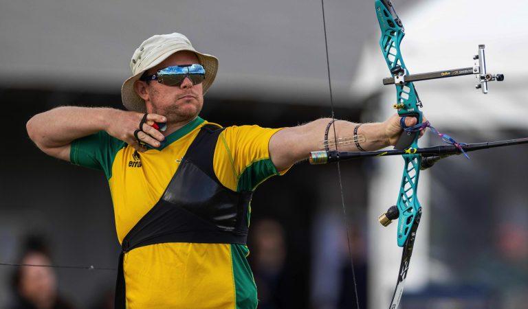 Mapleton archer firing as Tokyo action set to begin