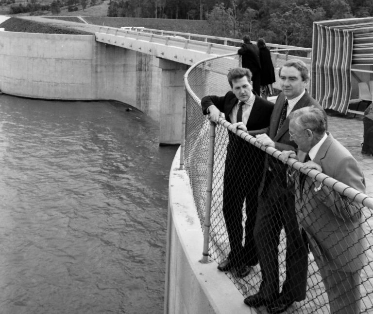 Precious dam that saved Coast after 40-year struggle