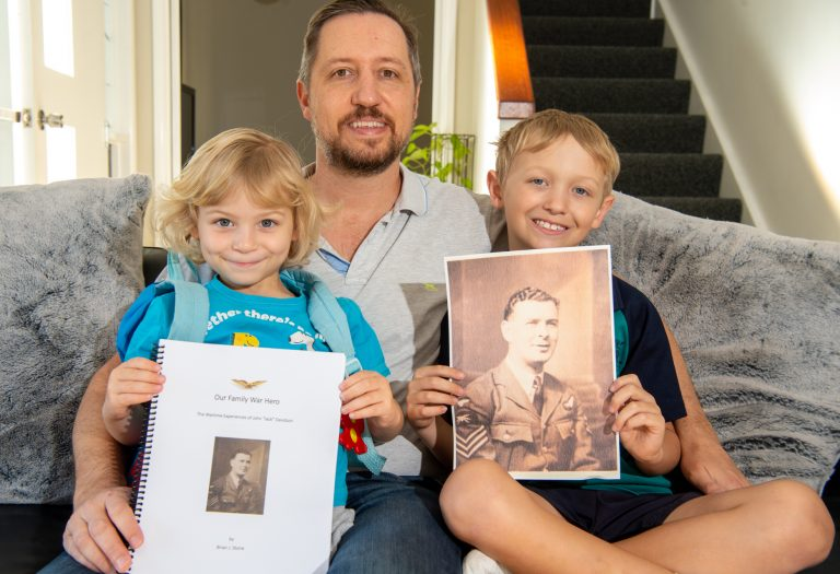 'Our war hero': family's uplifting gift to air museum