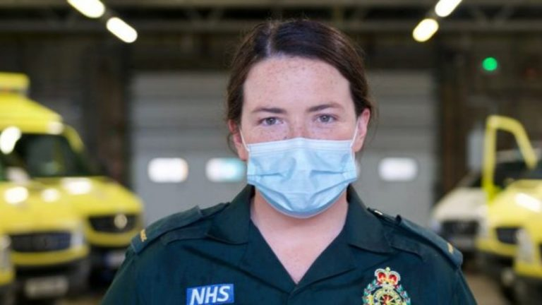 Coast woman fights to save lives on the UK front line