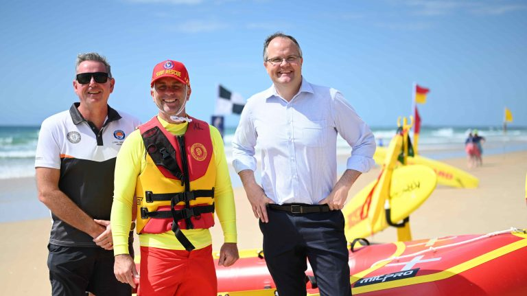 Surf life saving club buoyed by well-timed funding boost