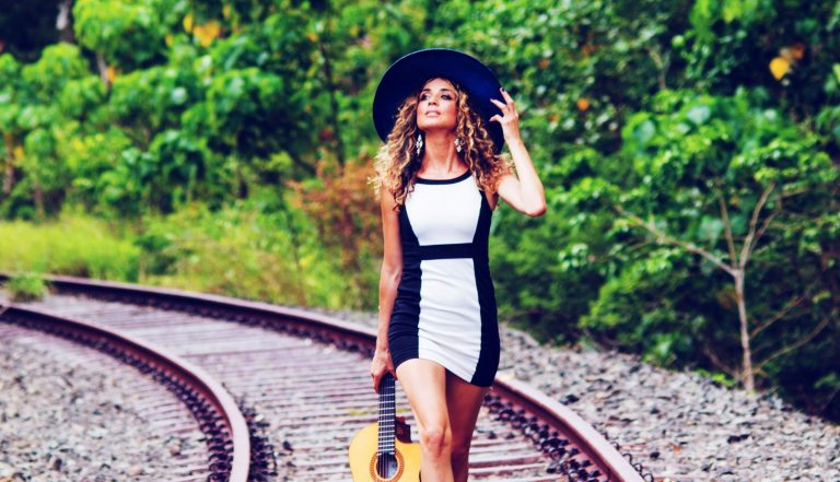 'Be free': Lucy's journey from wild child to international entertainer