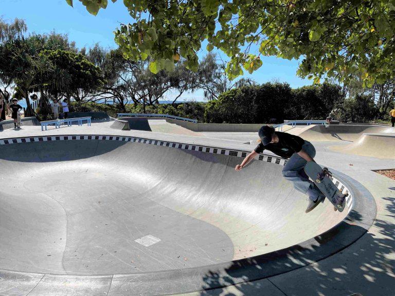 Shipwreck tribute and skate park create unique facility