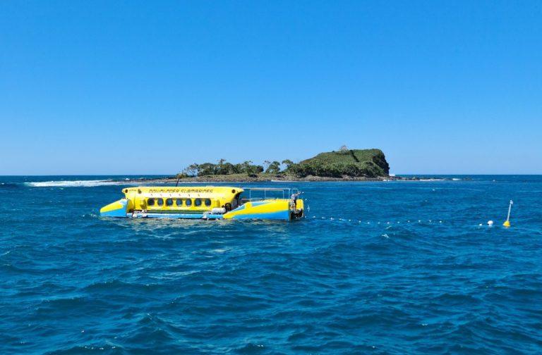 Unique tourist sub prepares for first passengers