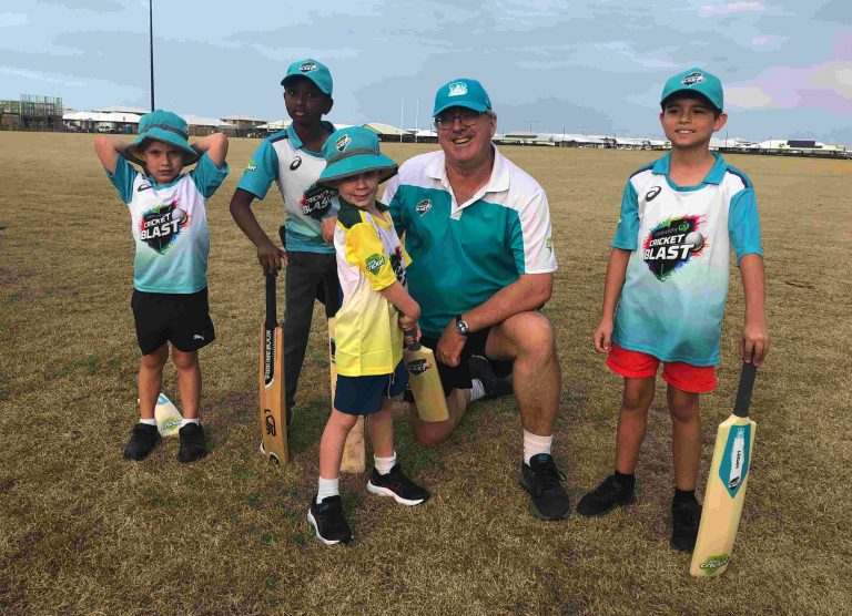 Coast's youngest cricket outfit swings into action