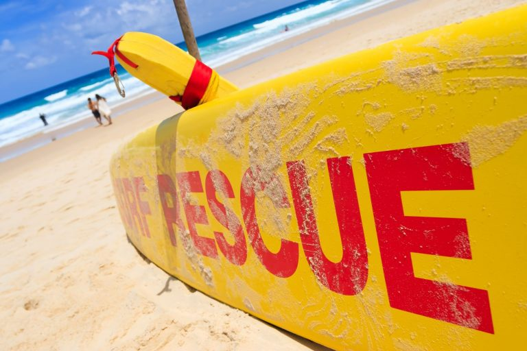 Surf appeal: what would you give to save a life?